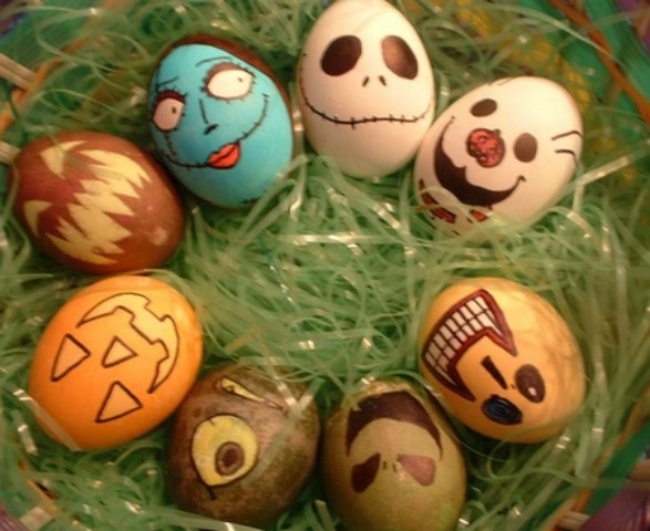 Le uova di halloween ricorrenze ed eventi speciali for Gonfiabili halloween